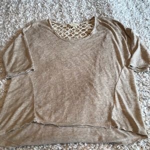 Staring at Stars lace back top size medium